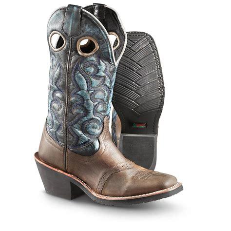 s laredo gillette square toe cowboy boots