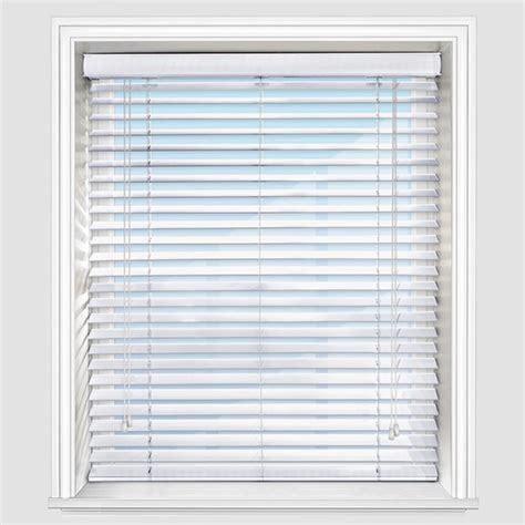 White Blinds Premier White Wooden Venetian Blind