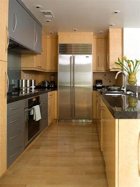 Ideas For Narrow Kitchens Small Narrow Kitchen Designs Kitchen Decor Design Ideas