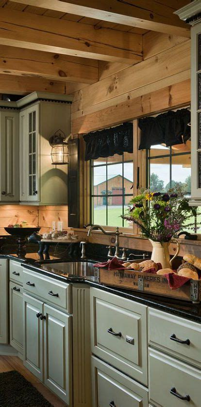 a rustic country kitchen in the early american style farmhouse interior vintage early american farmhouse