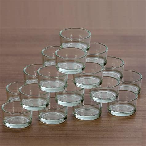 glas teelichthalter teelichthalter teelichtgl 228 ser 40mm teelicht glas t 252 lle