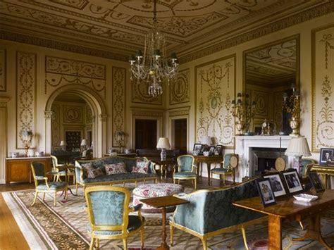 broadlands drawing room hampshire country house interior