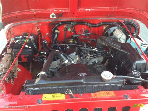 2000 Jeep Wrangler 2 5 Engine Jeep Yj 2 5 Engine Jeep Free Engine Image For User