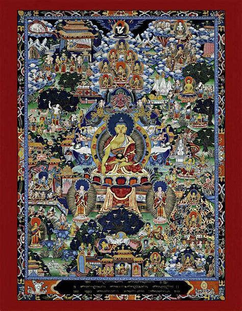Lebenslauf Bild Gedruckt thangka buddha lebenslauf reproduktion auf papier