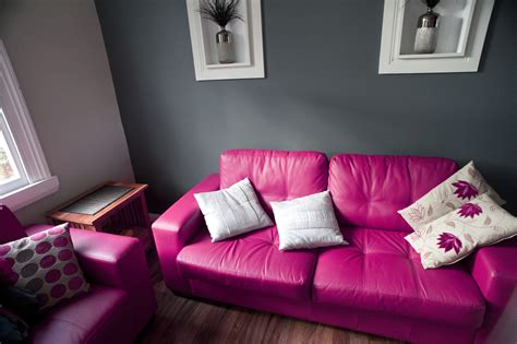 bright pink sofa free stock photo 8837 pink lounge suite freeimageslive