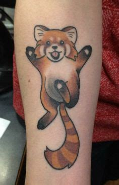 red panda tattoo meaning 1000 images about adrenaline vancity color tattoos on