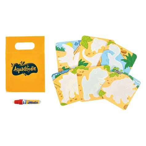 aquadoodle mini mats tomy aquadoodle mini mats zoo and dinosaurs drawing