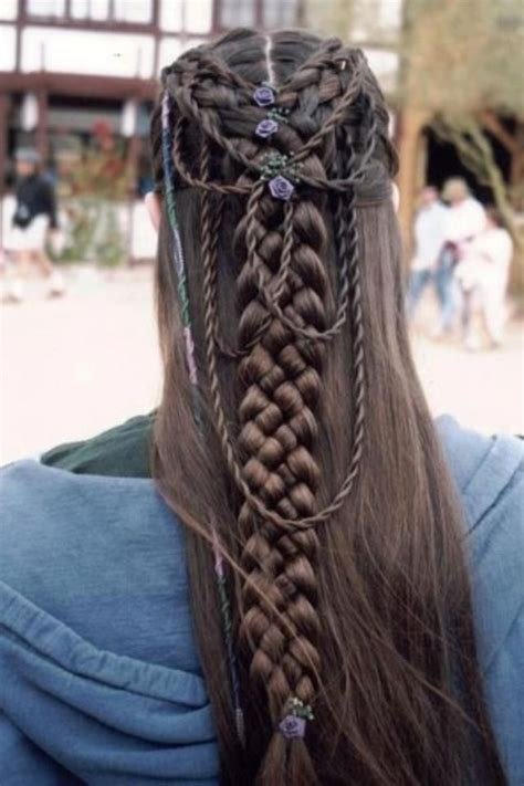 how to do viking hair hairstyle i found on a viking page hairstyles pinterest