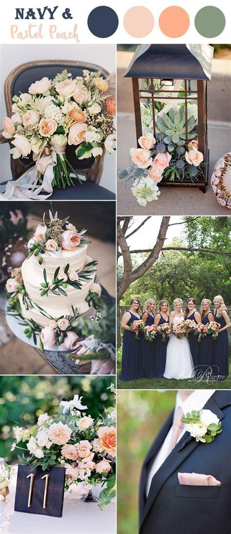 s2 desain indonesia dark blue peach and soft green garden wedding colors