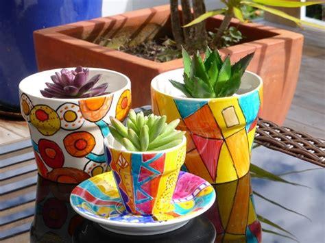 Blumentopf Bemalen Anleitung by Blumentopf Bemalen Balkon Und Garten Kreativ Gestalten 30