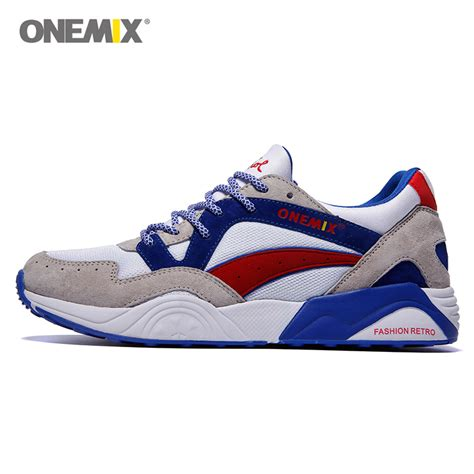 onemix discount retro athletic shoes running sneaker