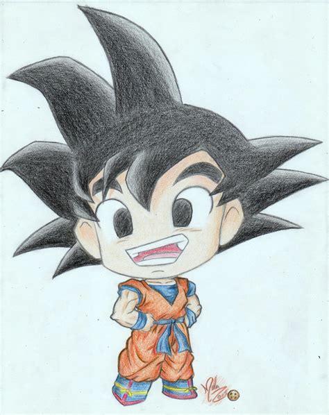 Imagenes Kawai De Goku | colored kawaii chibi goku youtube video by futagofude