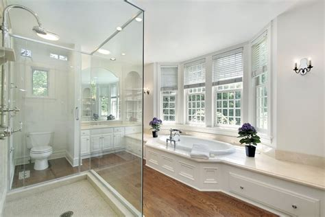 luxury white master bathroom ideas pictures