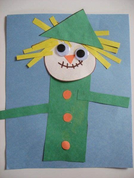 scarecrow pattern for kindergarten harvest crafts activities activities craft and school