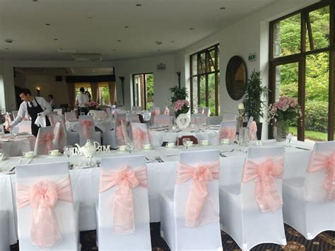 pale pink table cover 9 best images about chair sashes on pink