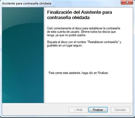 que es reset windows password c 243 mo entrar a windows 7 si olvid 233 la contrase 241 a