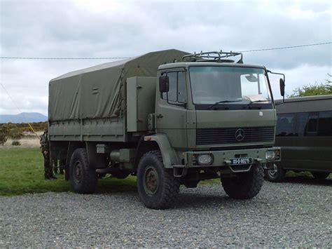 defence forces mercedes 1117 4x4 truck tcv