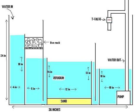 aquarium design guidelines design sump and tanks on pinterest