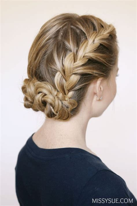 french braid bun on empire 1000 images about coiffure chignon on pinterest updo