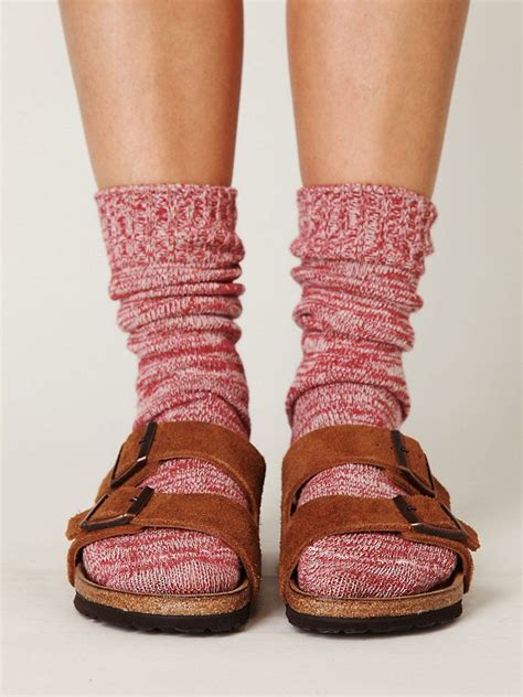birkenstock sandals with socks you don t to give up your birks when it gets colder