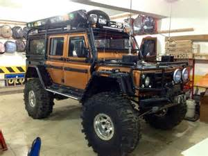 land rover defender road tuning