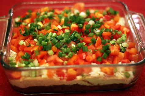 seven layer dip recipes dishmaps