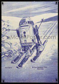 Stang Robot Stang Stir Robot Willwood Original 1 3t015 r2 d2 skiing 23x33 poster 80s wonderful