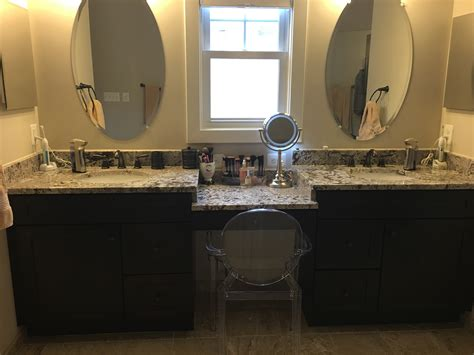 Bathroom With Two Separate Vanities by The Master Bath Of Dreams How Designed