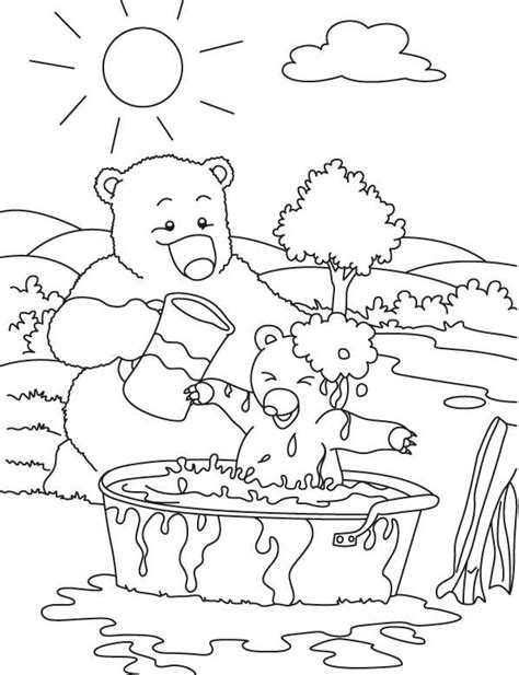 bear hunt coloring page pin by rebecca o neil on kids coloring pictures pinterest