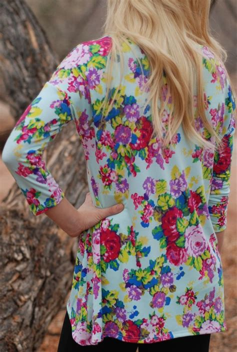 Tunic Seling 6 best selling floral tunics are back