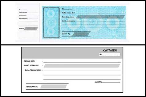 Contoh Kwitansi Pembayaran by Pengertian Kwitansi Dan Fungsinya Rangkuman Terjelas