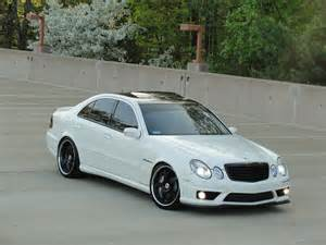 Mercedes E55 Amg White On Black Mercedes W211 E55 Amg Benztuning