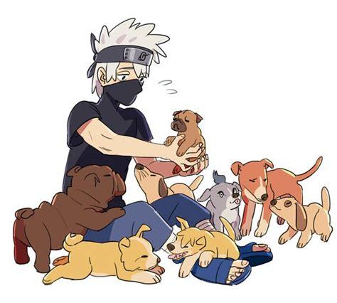 kakashi dogs pups image 2579114 by taraa on favim