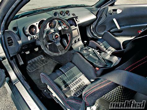 350z Interior Upgrades by 2005 Nissan 350z Modified Magazine