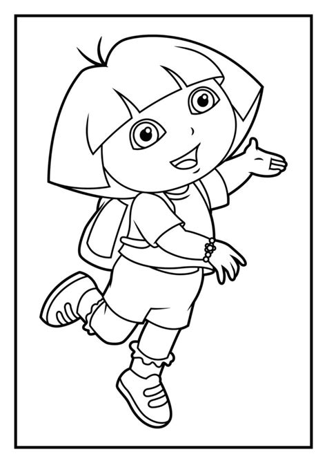 coloring pages coloring pages diego coloring pages dora
