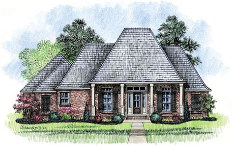 gardere louisiana house plans acadian house plans