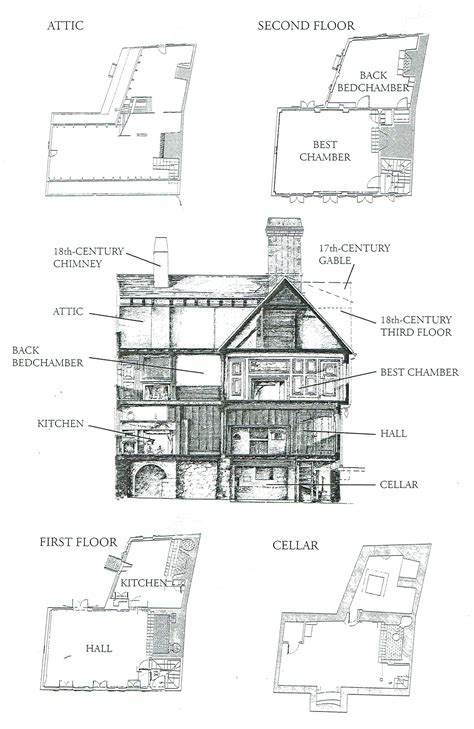 paul revere house floor plan paul revere house paul revere house