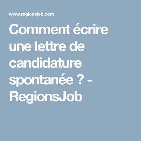 Lettre De Motivation Candidature Spontan E Formateur 25 best ideas about lettre motivation candidature