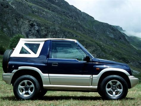 1988 Suzuki Vitara Suzuki Vitara 1 6 1988 Auto Images And Specification