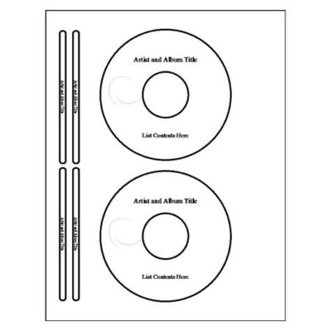 Avery Templates Cd Labels by Free Template For Avery 5931 Cd Label Internetwish
