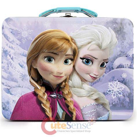 Snow Frozen Lunchbox disney frozen tin box snow metal lunch jewelry box pruple ebay