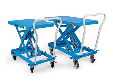 bishamon mobileveler lift table capacity 220 lbs model esx 10