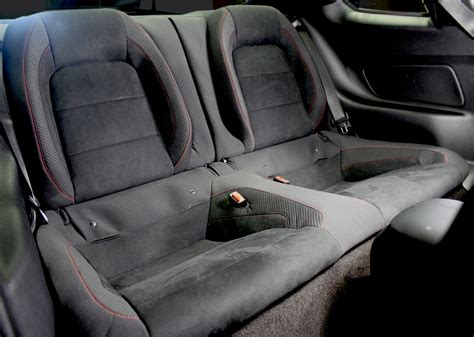 cars with back seats now you can add rear seats to your mustang shelby gt350r