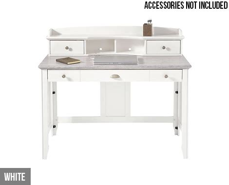 computer desk black or white grabone nz