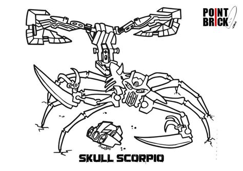 Disegni Da Colorare Lego Bionicle Skull Scorpio Bionicle Coloring Pages