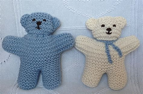pattern for simple knitted teddy bear 301 moved permanently