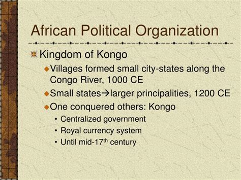 political organizing ppt africa and trans sahara trade routes powerpoint