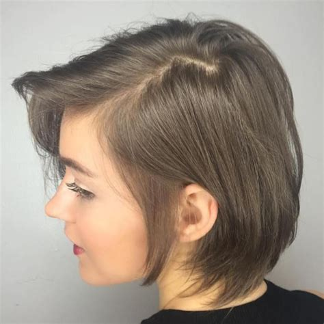 hair parting comes forward 1000 images about short hairstyles on pinterest for
