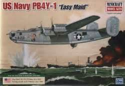 Minicraft Pb4y 1 Usn With 2 Marking Options Model Kit 1144 Scale 1 144 aircraft