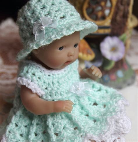 pattern for yarn doll pdf 3 patterns crochet 7 5 8 inch baby doll yarn dress top